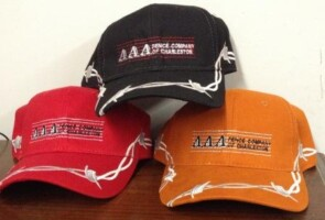 New style hats for AAA Fence Company