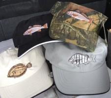 Shirttail hats at Mt. Pleasant Fishing Pier